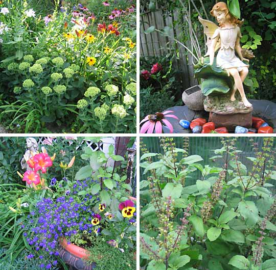 Mystical Herbs Home Page Collage