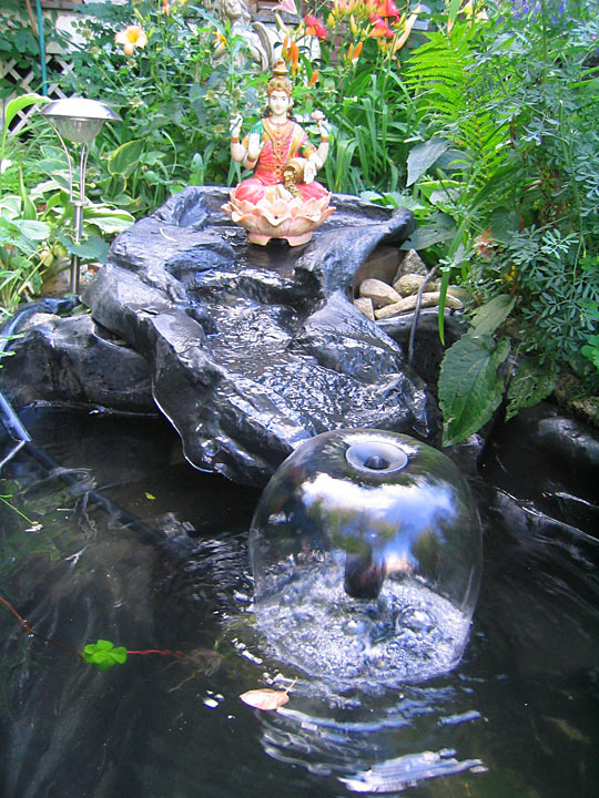 Mystical Herbs Garden Ponds and Fountains